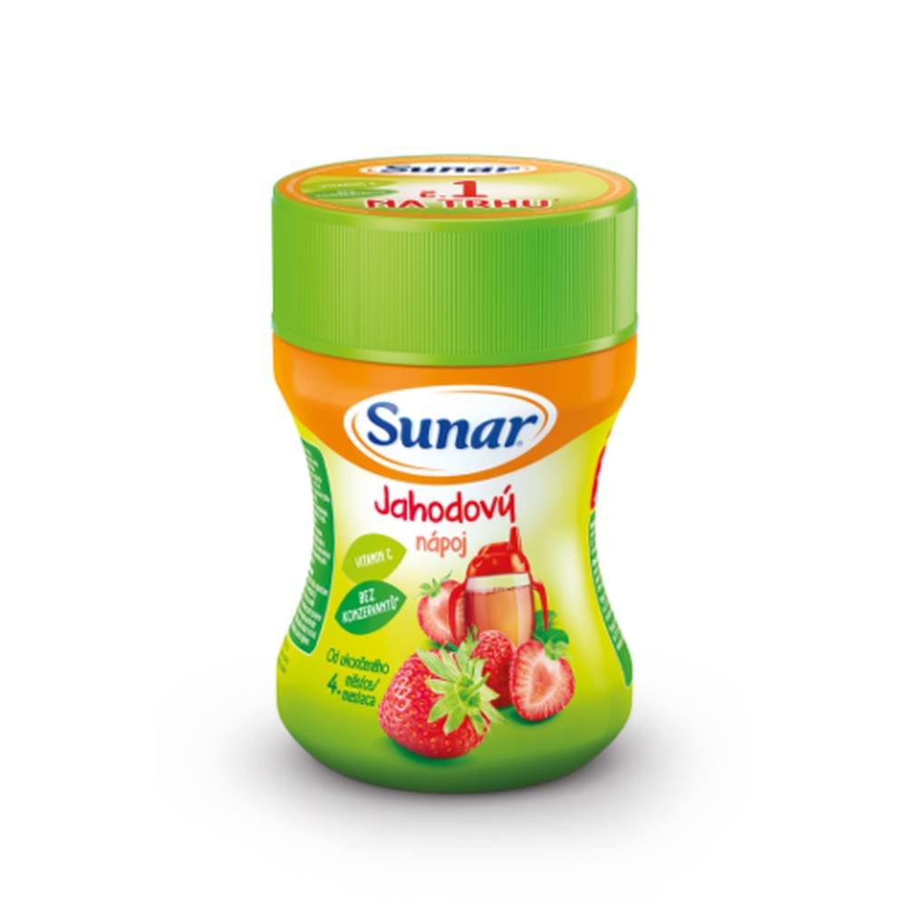 Sunar SUNAR Rozpustný nápoj v prášku jahodový 200 g