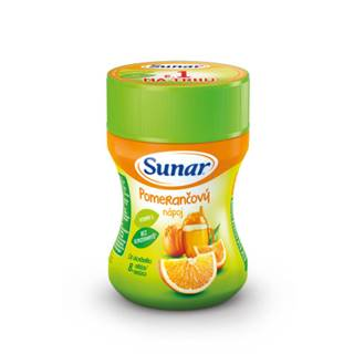 SUNAR Rozpustný nápoj v prášku pomarančový 200 g