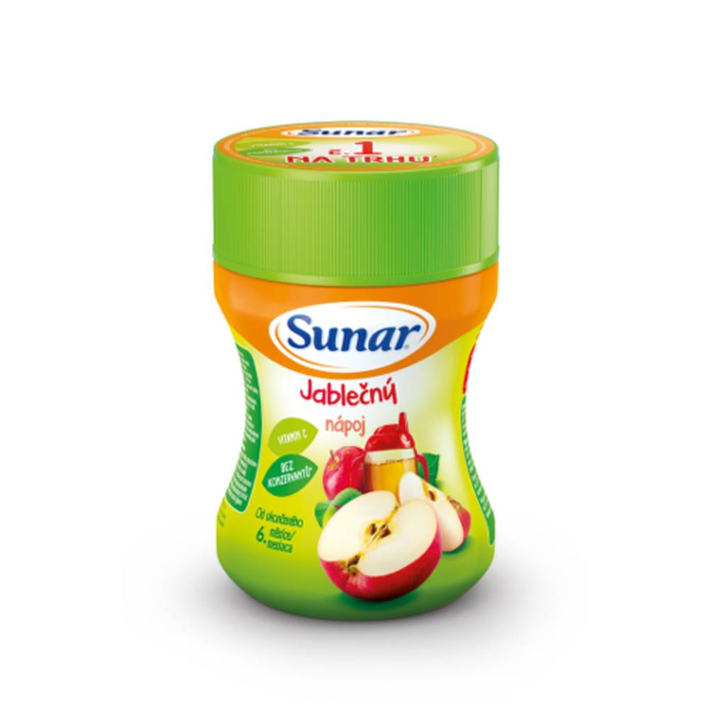 Sunar SUNAR Rozpustný nápoj v prášku jablčný 200 g