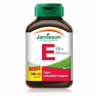 JAMIESON Vitamín E 400 IU 120 tabliet