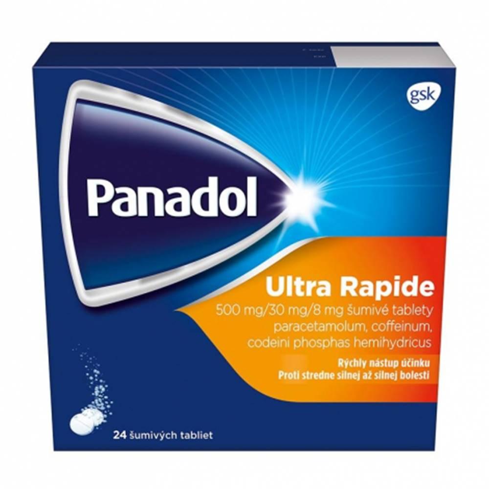 Glaxo Smith Kline Panadol Ultra Rapide šumivé tablety 24 tbl