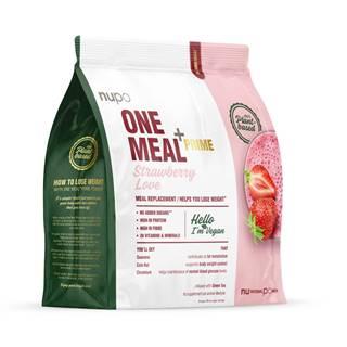 Nupo diétny nápoj jahoda one meal +prime vegan