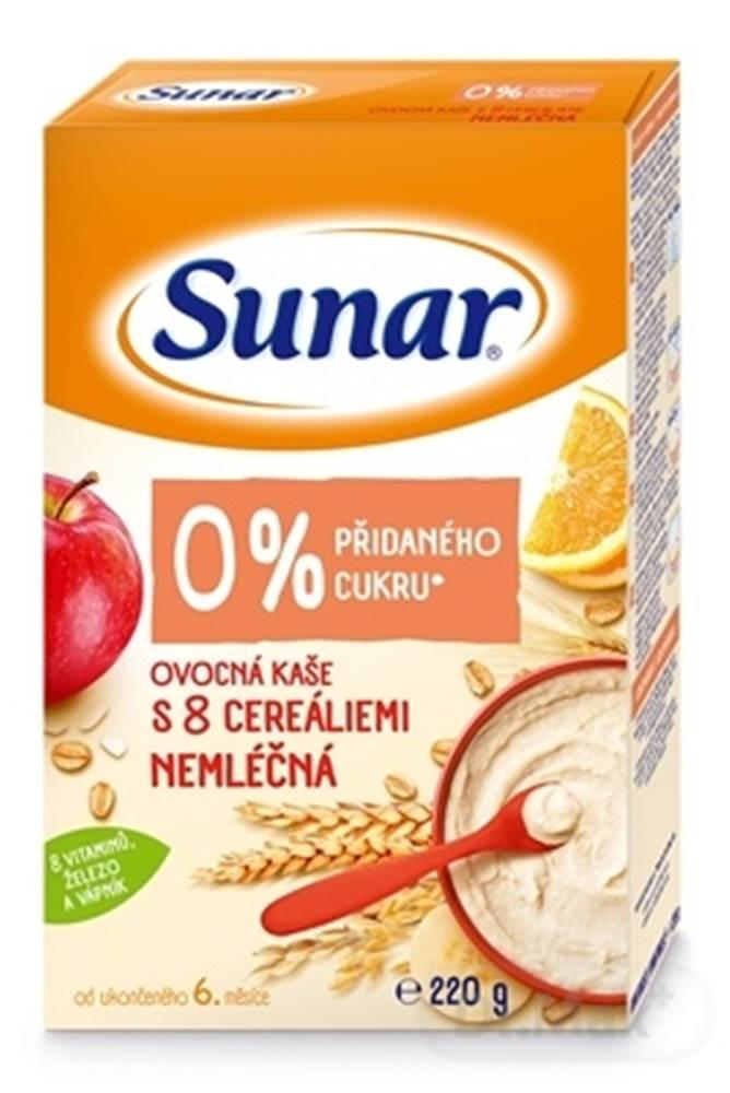 Sunar Sunar Ovocná KAŠA s 8 cereáliami NEMLIEČNA
