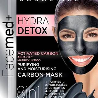 Facemed Hydra Detox pleťová maska 8v1