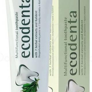 ECODENTA Ekologická Multifunkčná zubná pasta s extraktom zo 7 rastlín - 97% EKO