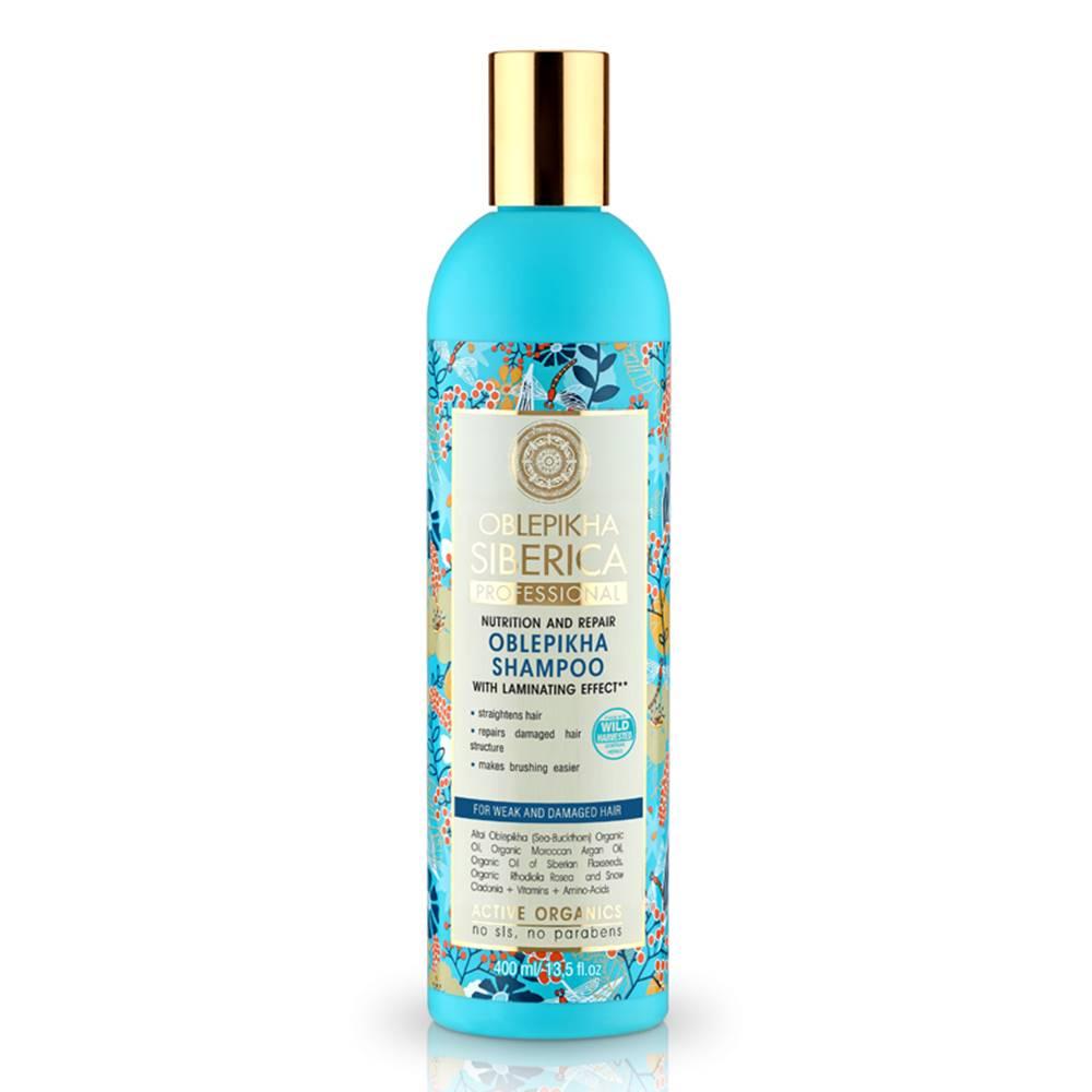 NATURA SIBERICA Natura Siberica Rakytníkový šampón pre poškodené vlasy