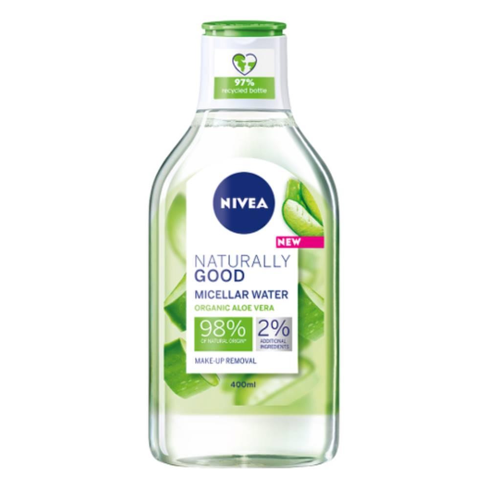 Nivea NIVEA Micelárna voda naturally good s aloe vera 400 ml