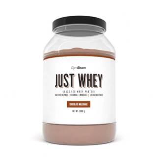 GYMBEAM Proteín just whey príchuť čokoládový milkshake 2 000 g
