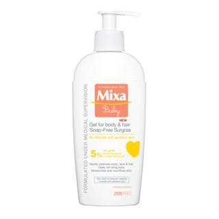 MIXA Vyživujúci umývací gél pre deti na telo a vlasy 250 ml