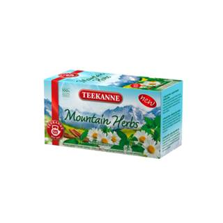 TEEKANNE Mountain herbs bylinný čaj 20 x 1,8 g