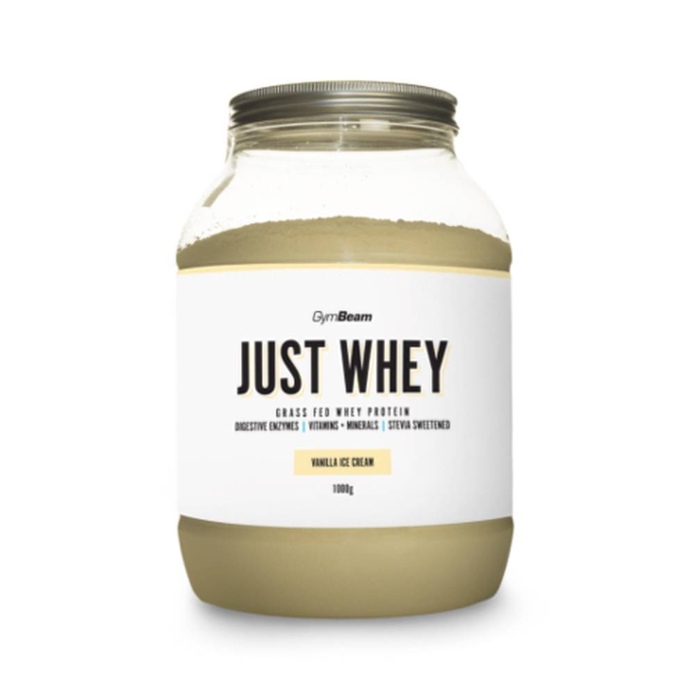 GymBeam GYMBEAM Proteín just whey príchuť vanilková zmrzlina 1 000 g