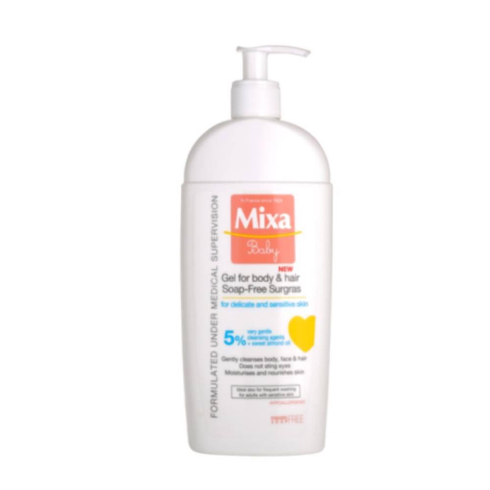 Mixa MIXA Vyživujúci umývací gél pre deti na telo a vlasy 400 ml