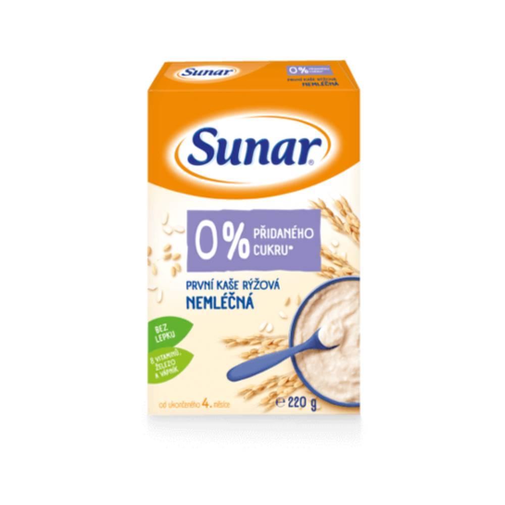 Sunar SUNAR Prvá kaša ryžová nemliečna 220 g