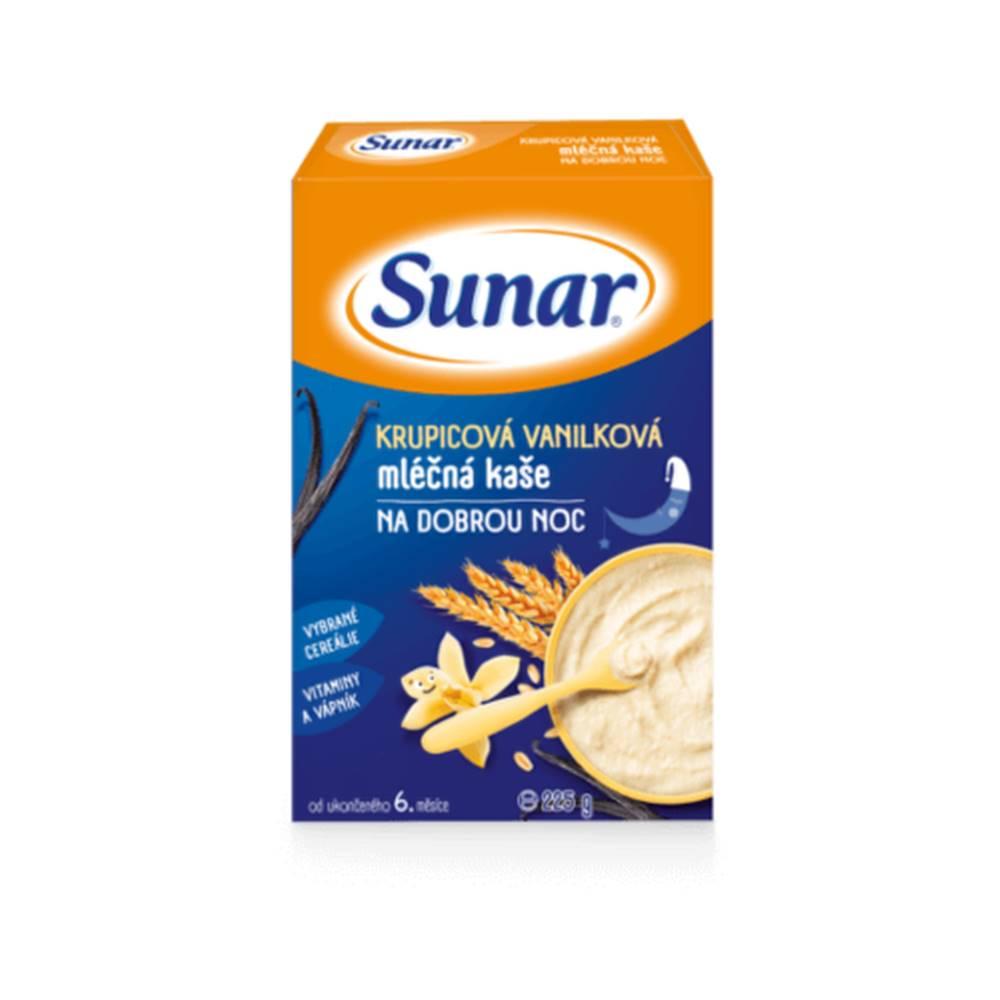 Sunárek SUNAR kašička na dobrú noc mliečna vanilková 225 g