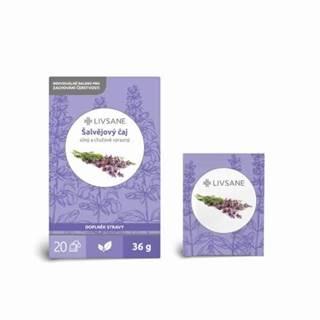 LIVSANE Šalviový čaj 20 x 1,8 g