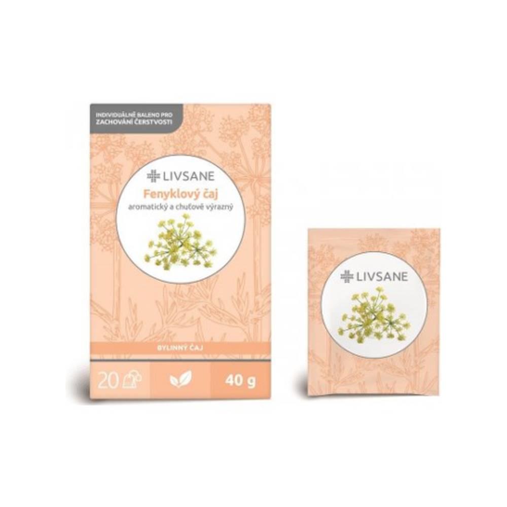 LIVSANE LIVSANE Feniklový čaj 20 x 2 g