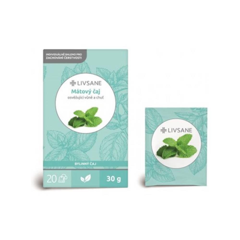 LIVSANE LIVSANE Mätový čaj 20 x 1,5 g