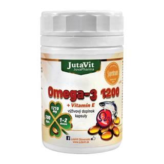 JUTAVIT Omega-3 1200 + vitamín E 100 lapsúl