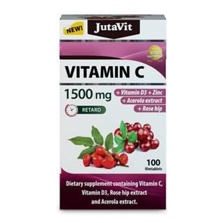 JUTAVIT Vitamín C 1500 mg 100 tabliet