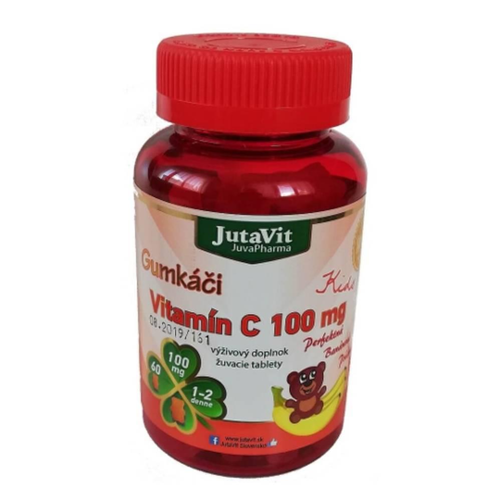 JUTAVIT JUTAVIT Gumkáči vitamín C 100 mg kids 60 tabliet