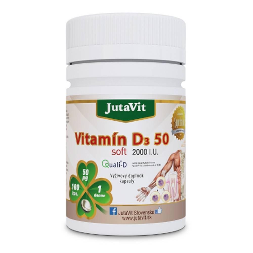 JUTAVIT JUTAVIT Vitamín D3 50 soft 100 kapsúl