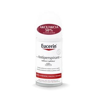 EUCERIN Deo guličkový antiperspirant VÝHODNÉ BALENIE 2x50 ml