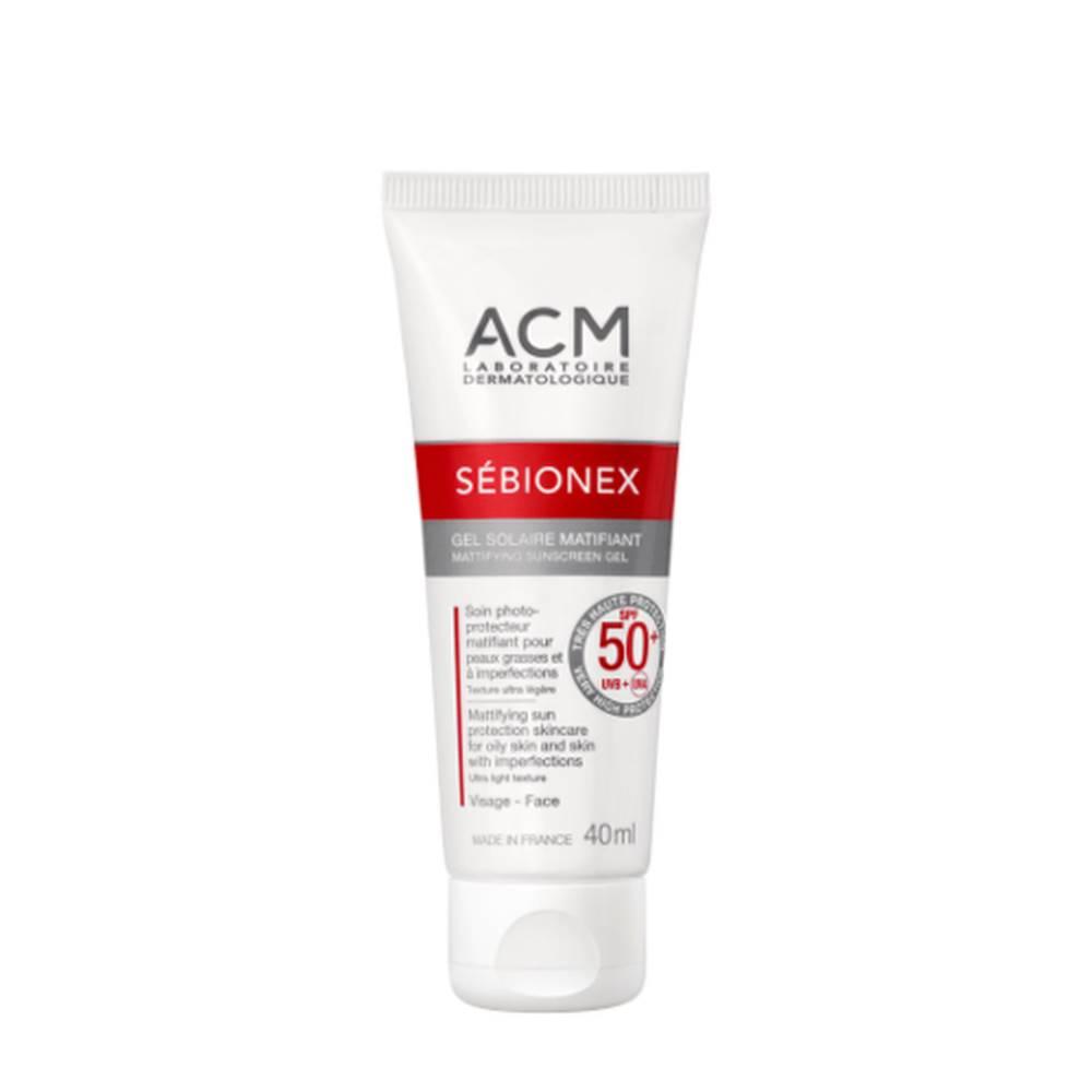 ACM ACM Sébionex zmatňujúci krémový gél na opaľovanie 40 ml