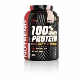 NUTREND 100% whey protein príchuť čokoláda + kakao 2 250 g