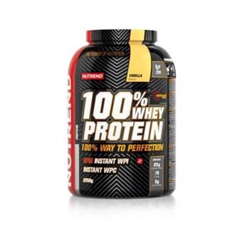 NUTREND 100% whey protein príchuť vanilka 2 250 g