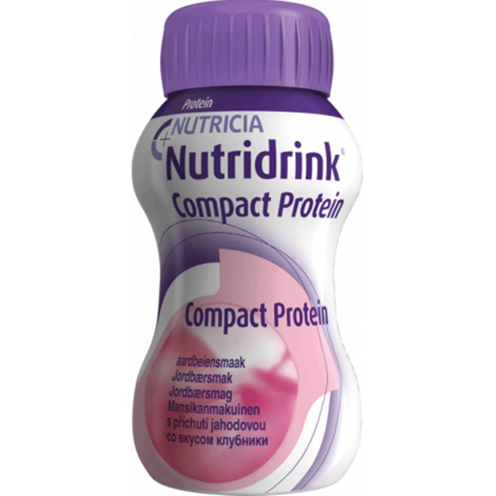 Nutricia a.s. NUTRIDRINK COMPACT PROTEIN s jahodovou príchuťou 24x125 ml