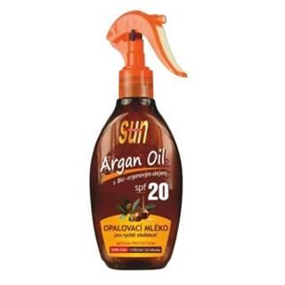 SUN ARGAN OIL opaľovacie mlieko SPF20 200 ml