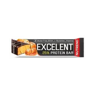 NUTREND Excelent protein bar proteínová tyčinka, slaný karamel 85 g