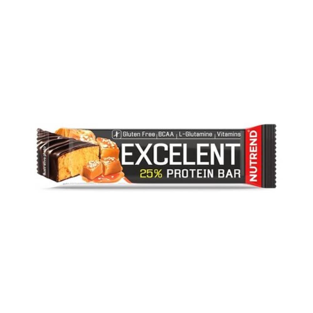 Nutrend NUTREND Excelent protein bar proteínová tyčinka, slaný karamel 85 g