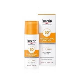 Eucerin CC krém na opaľovanie SPF 50+ svetlý 50 ml