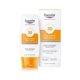 Eucerin Extra ľahké mlieko na opaľovanie Sensitive Protect SPF 30 150ml