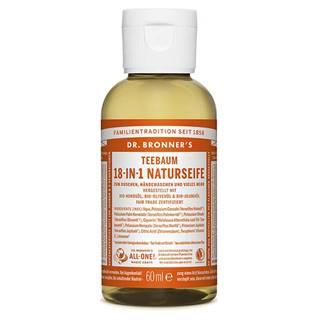Dr. Bronner's Tekuté kastílske mydlo Tea Tree 60 ml