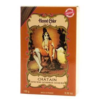Henné Color Paris Chatain Henna Powder, Henné Color 100g - Gaštanová
