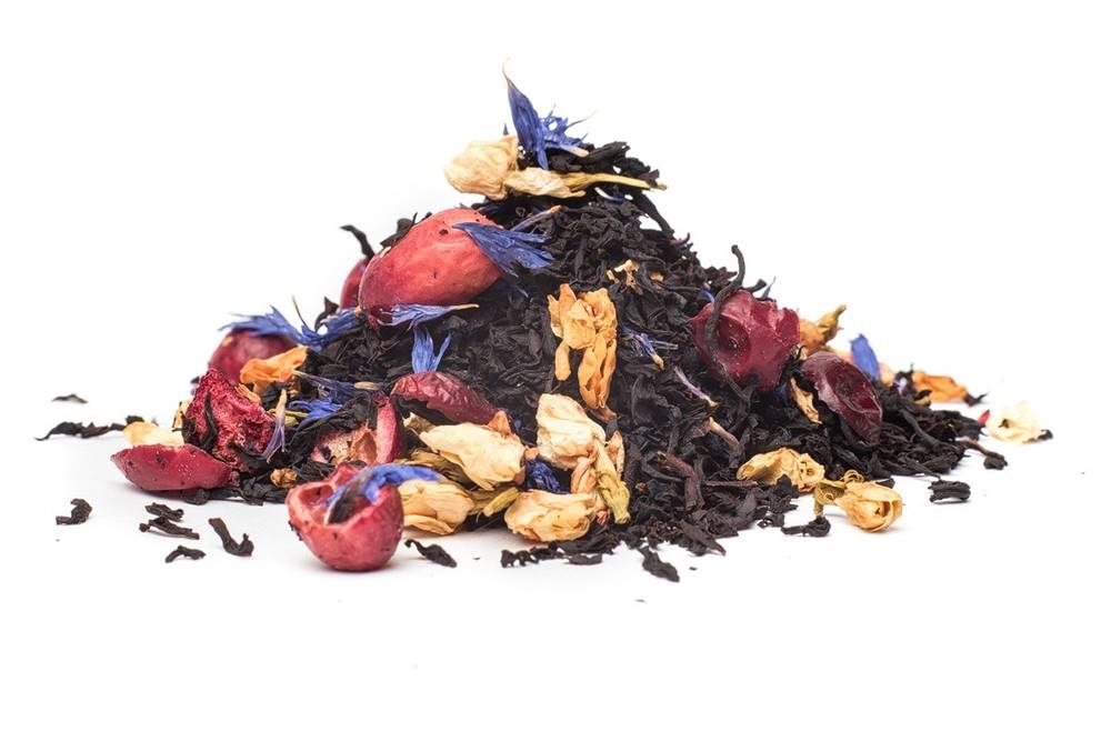 Manu tea BRUSNICOVO KAKTUSOVÝ - čierny čaj, 10g