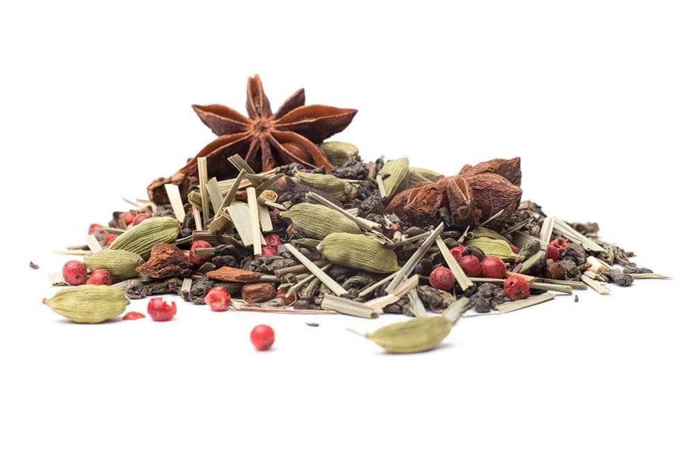 Manu tea MASALA  GREEN - zelený čaj, 10g