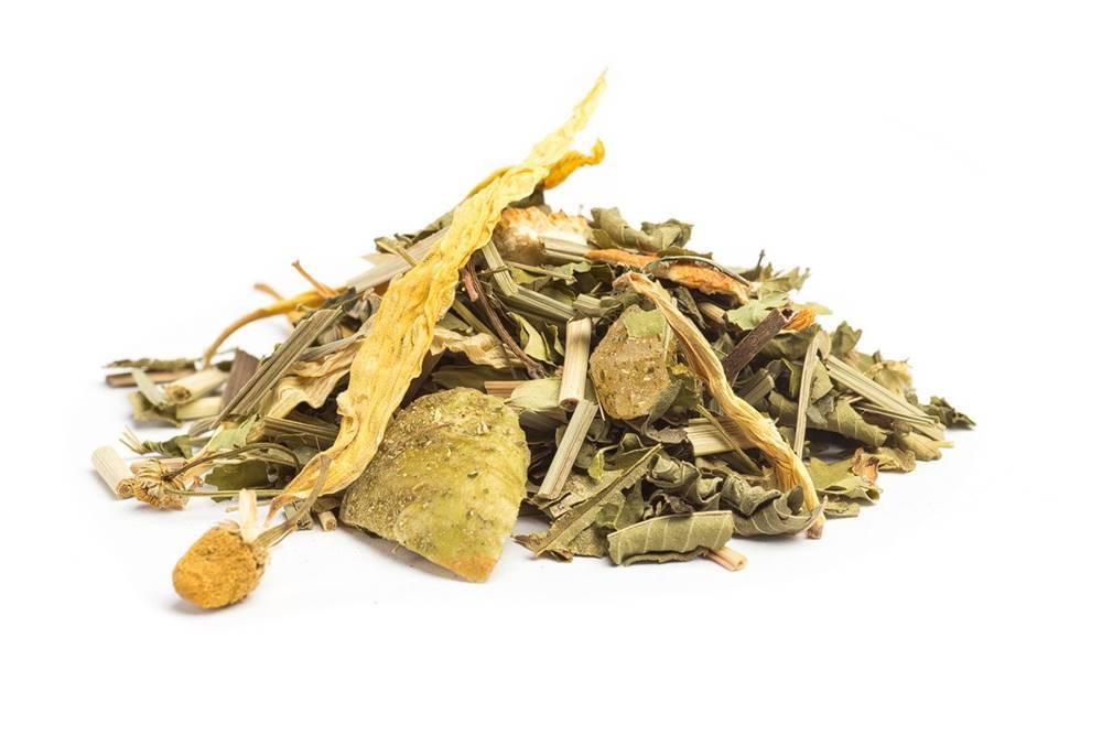 Manu tea MORINGA ZMES SO ŽELEZNÍKOM S CITRÓNOM - bylinná zmes, 10g