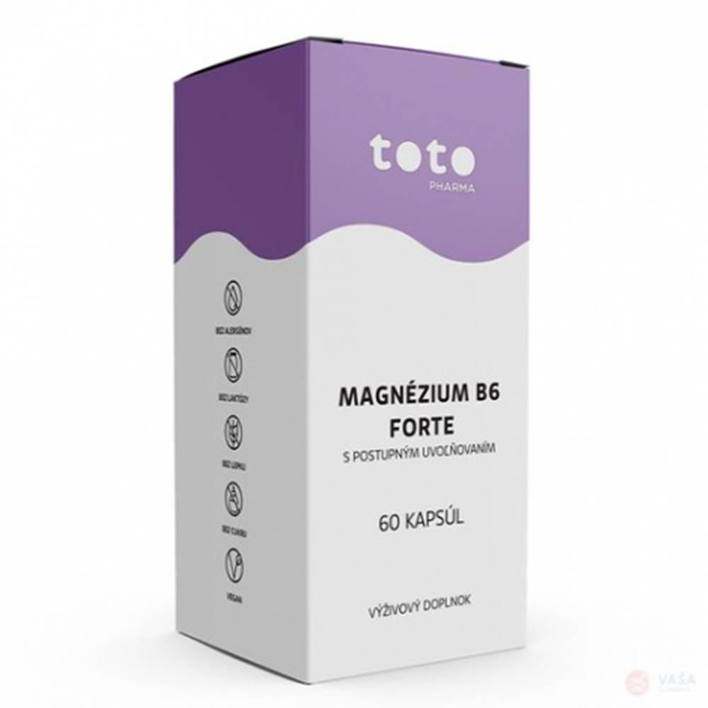 TOTO Pharma s.r.o. TOTO Magnézium B6 forte 60 cps