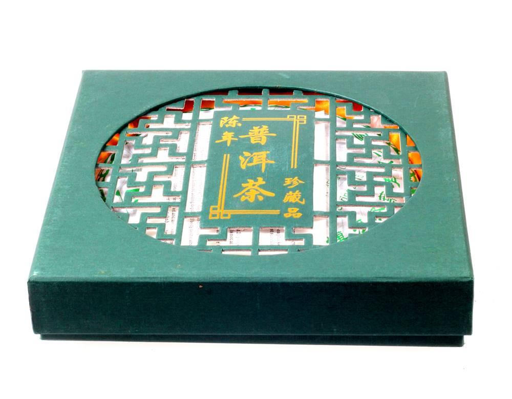 Manu tea CHINA GREEN PU ERH BEENG CHA - 357g