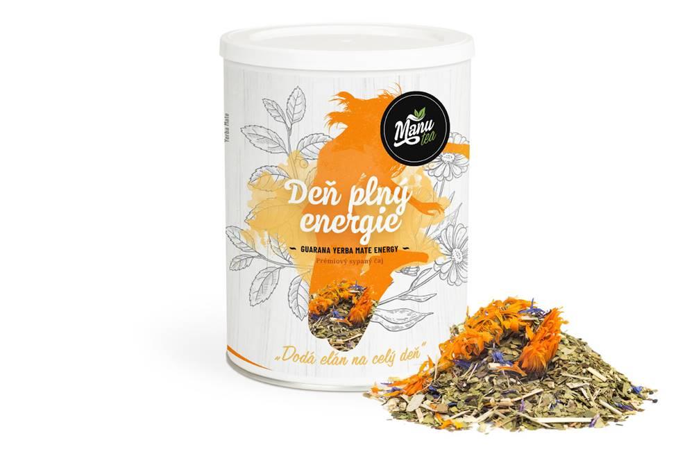 Manu tea DEŇ PLNÝ ENERGIE - bylinný čaj 160g