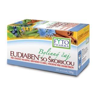 FYTO Bylinný čaj eudiaben so škoricou 20 x 1,5g