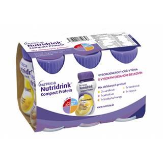 NUTRIDRINK COMPACT PROTEIN mix príchutí 6x125 ml