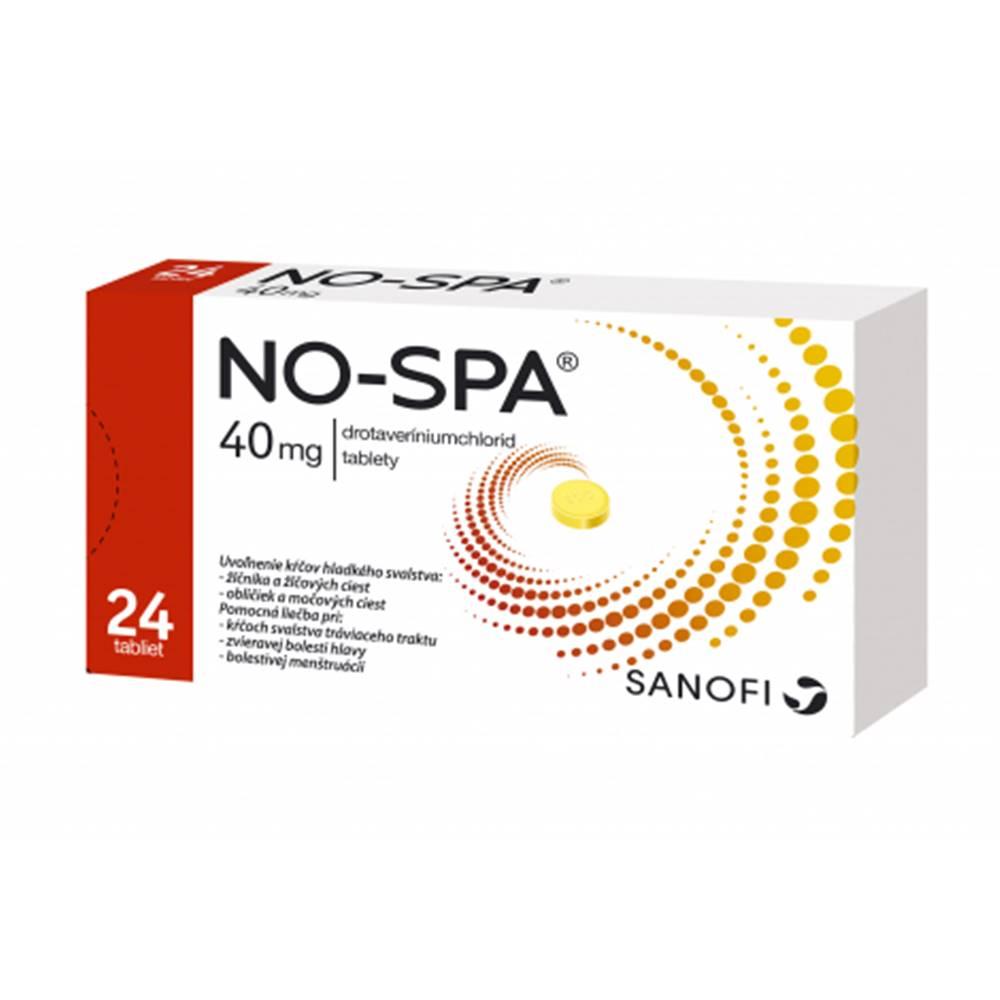 sanofi-aventis Slovakia No-spa 40 mg 24 tabliet