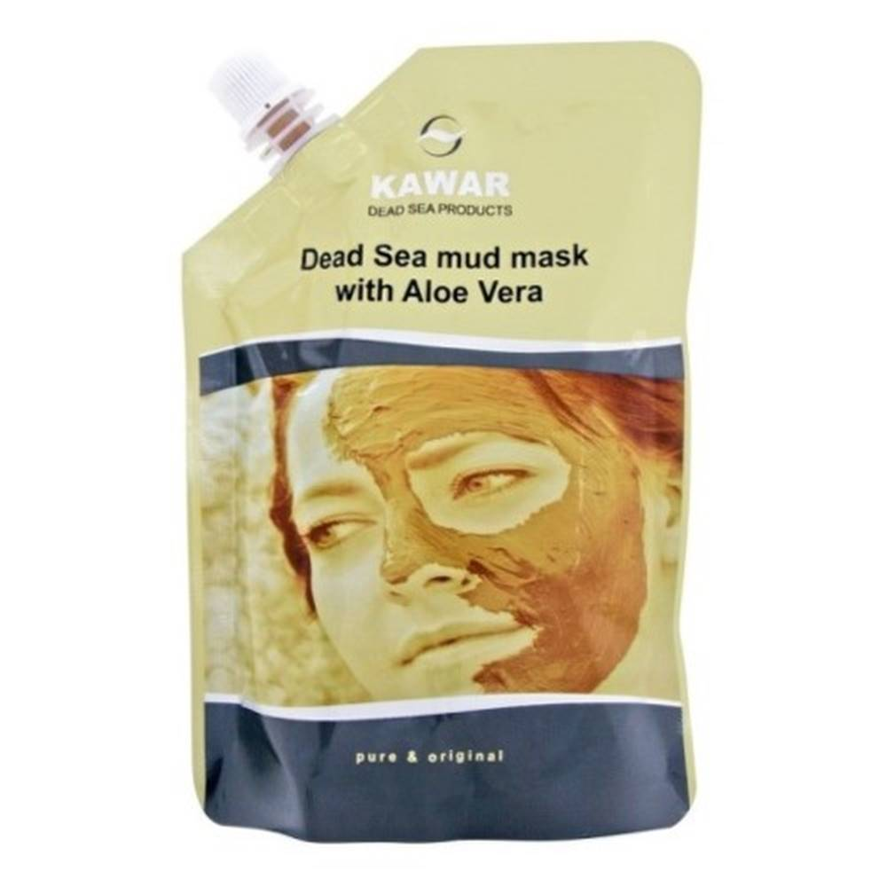 KAWAR KAWAR Bahenná pleťová maska s minerálmi z mŕtveho mora a aloe vera 250 g
