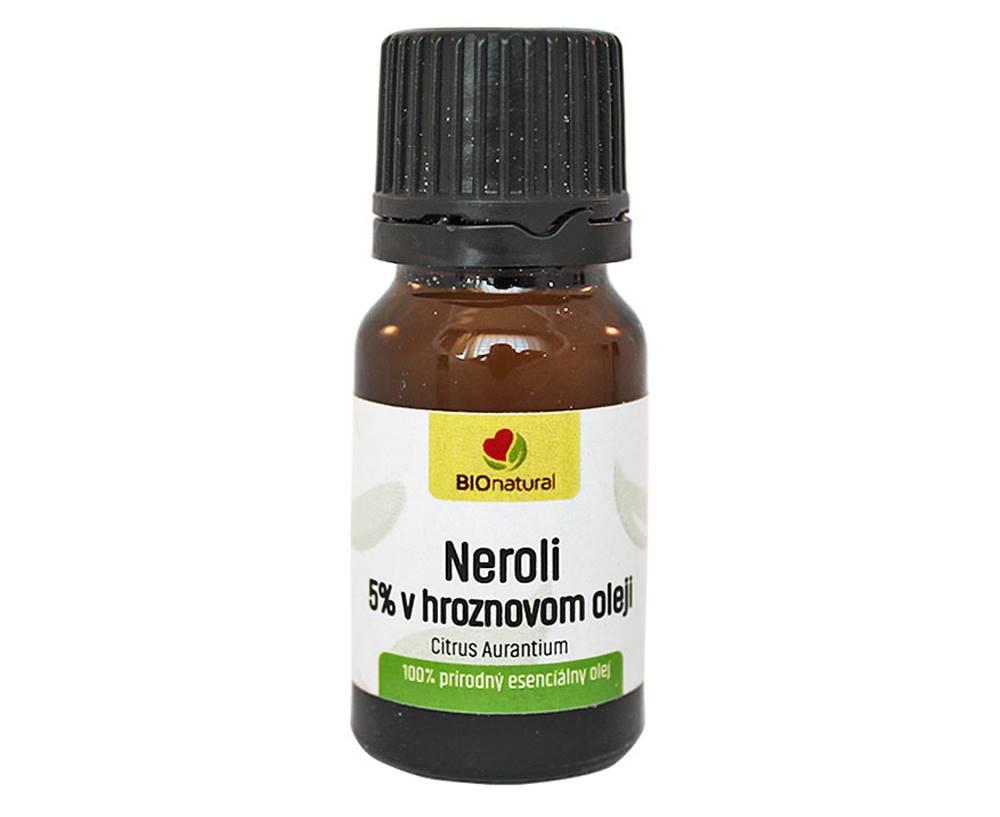 Bionatural Bionatural Neroli 5%, éterický olej 10 ml