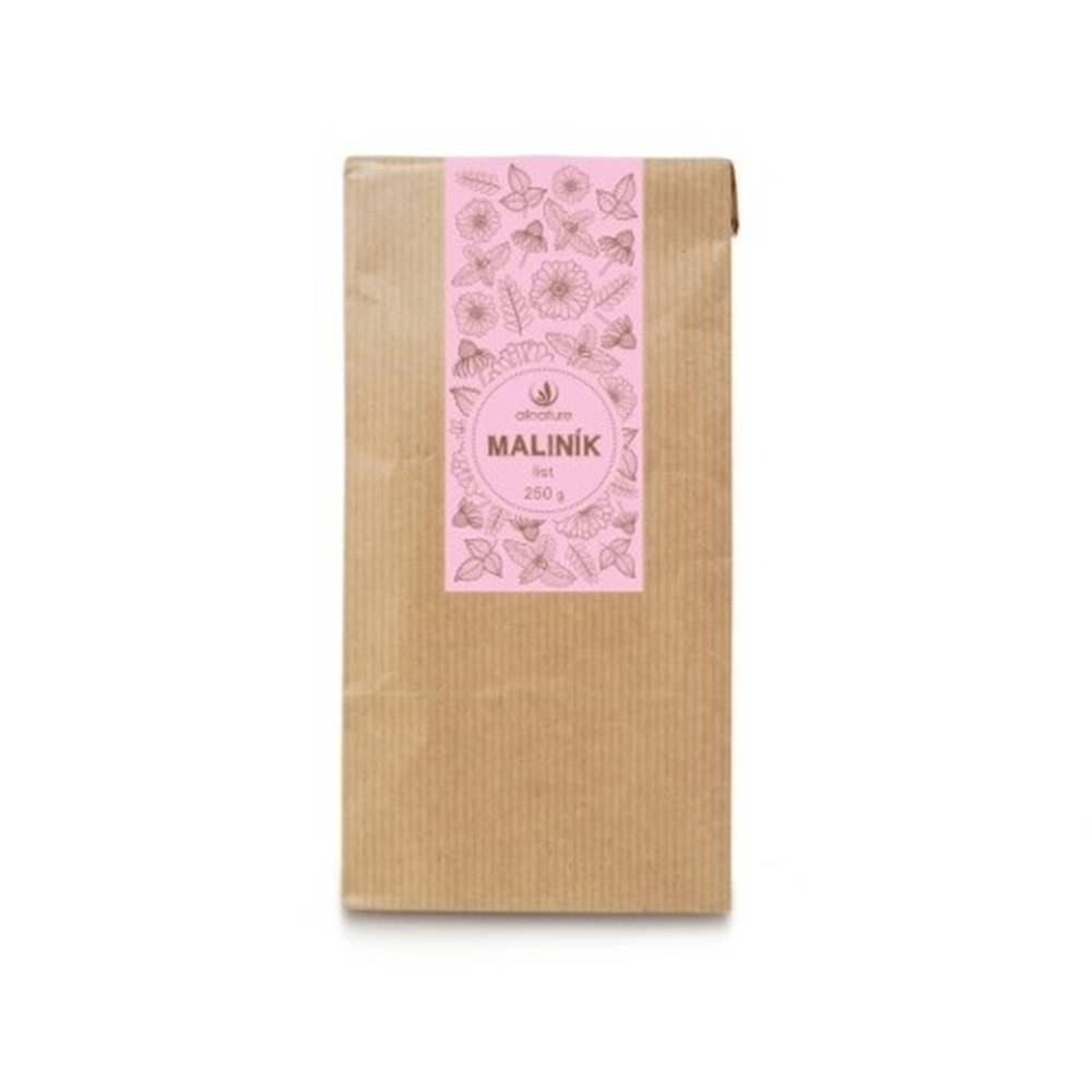 Allnature ALLNATURE Maliník list bylinný čaj sypaný 250 g