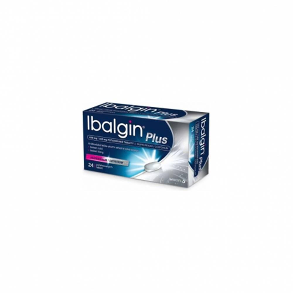sanofi-aventis Slovakia Ibalgin Plus tbl.flm.24 x 400 mg / 100 mg